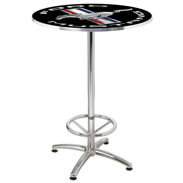 27 Round Mustang Cafe Table by Ford