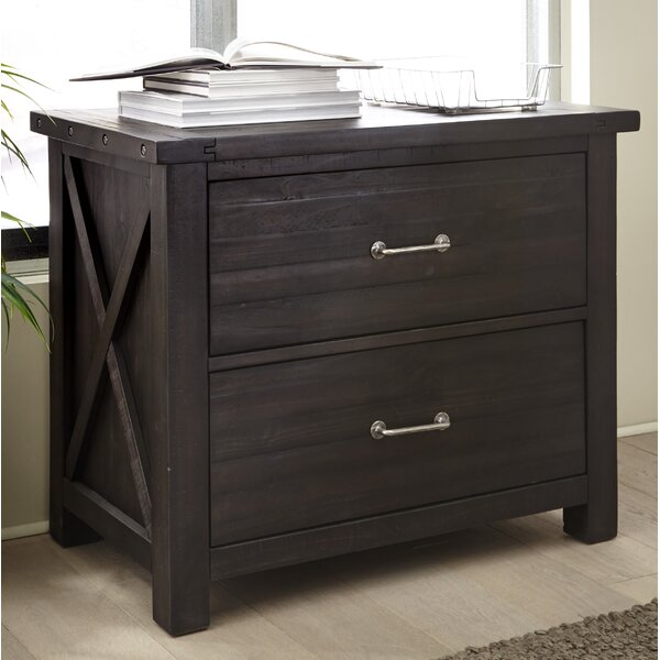 Langsa Solid Wood 2-Drawer Lateral Filing Cabinet by Laurel Foundry Modern Farmhouse