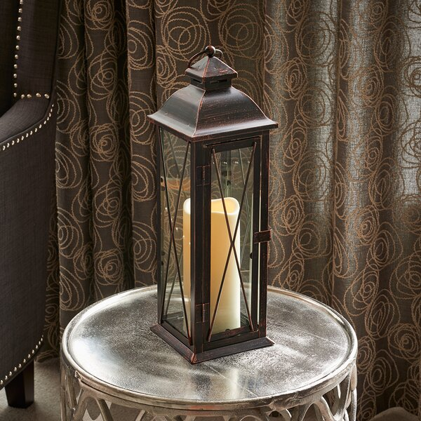 Siena Metal Lantern by Smart Living