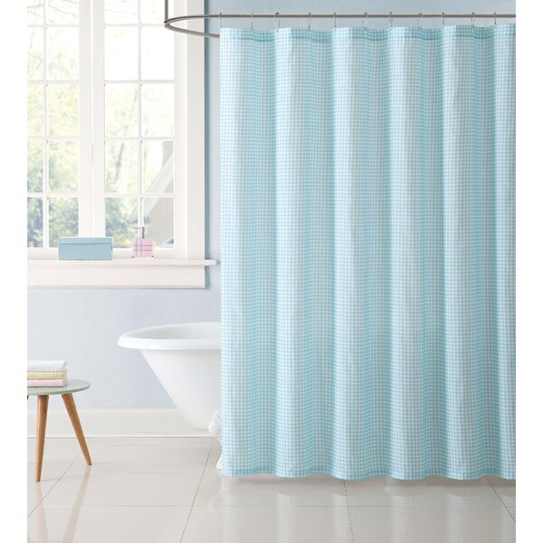 Duell Kids Gingham Shower Curtain by Harriet Bee
