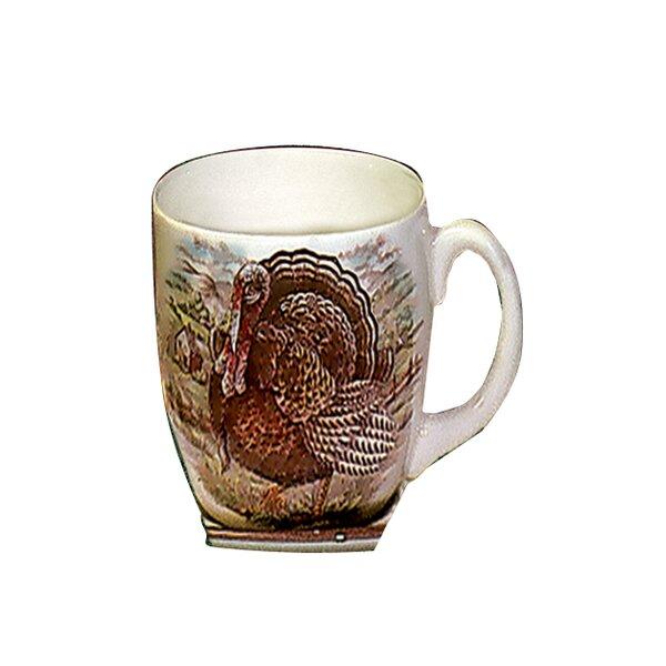 Turkey Traditional Earthenware Mug (Set of 2) by The Holiday Aisle