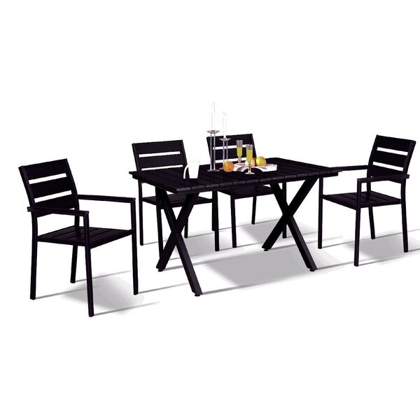 Gallant Modern Contemporary 5 Piece Dining Set by Wrought Studio