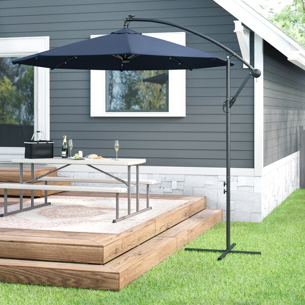 Kayleigh 10' Cantilever Umbrella By Freeport Park by Freeport Park Comparison