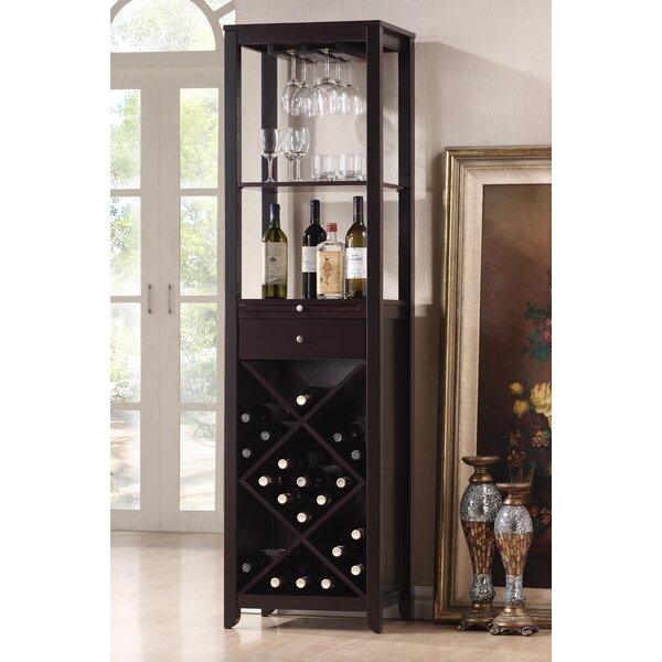 Baxton Studio 33 Bottle Floor Wine Rack by Wholesale Interiors