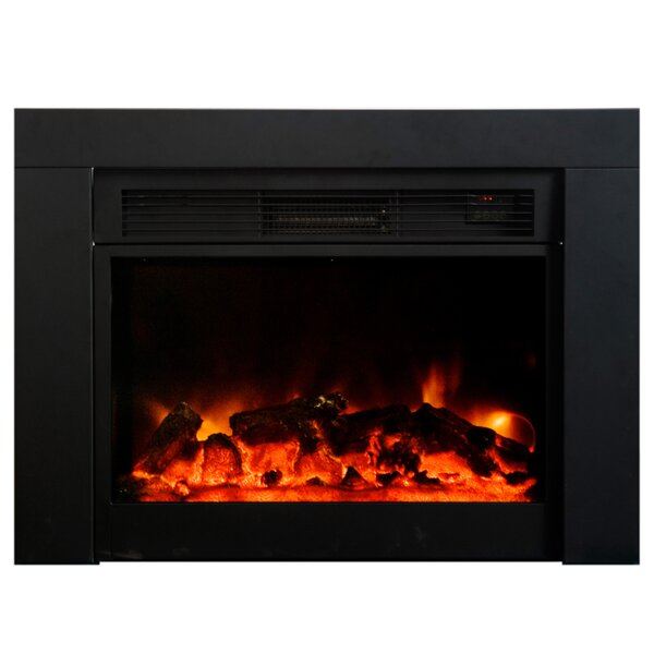 Easton Electric Fireplace Insert by Charlton Home Charlton Home