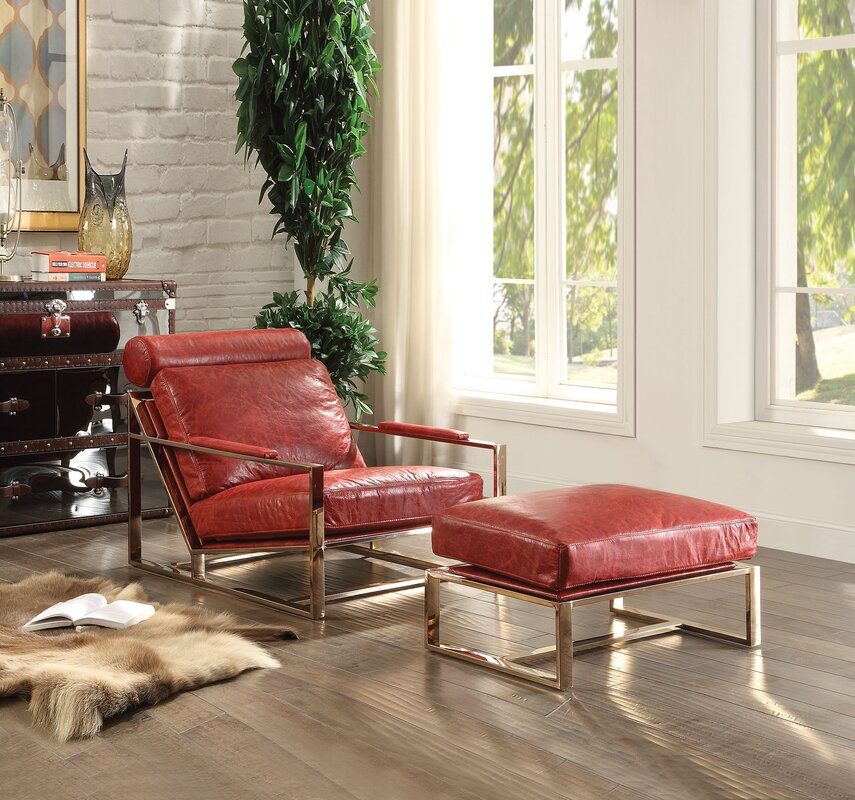 Quinto Lounge Chair With Ottoman By A Amp J Homes Studio Best