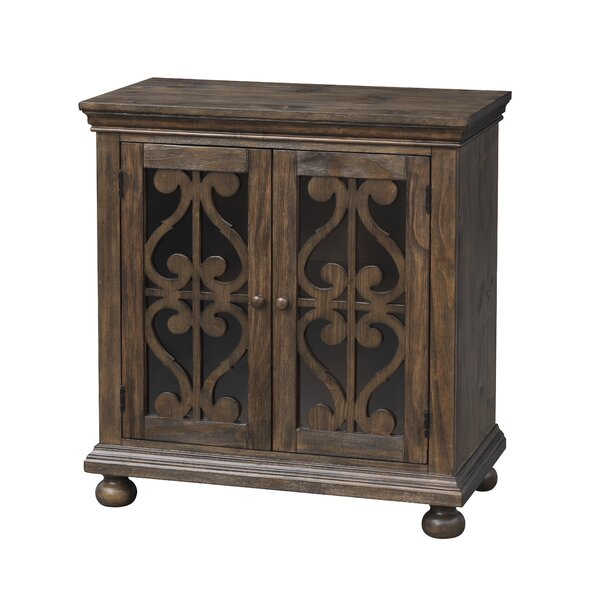 Delong 2 Door Accent Cabinet By One Allium Way
