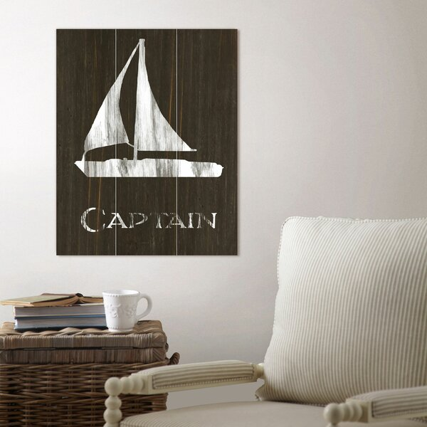 Sailboat Wood Wall Art by Birch Lane™