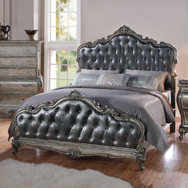 Bernard Fabric Upholstered Standard Bed by Rosdorf Park