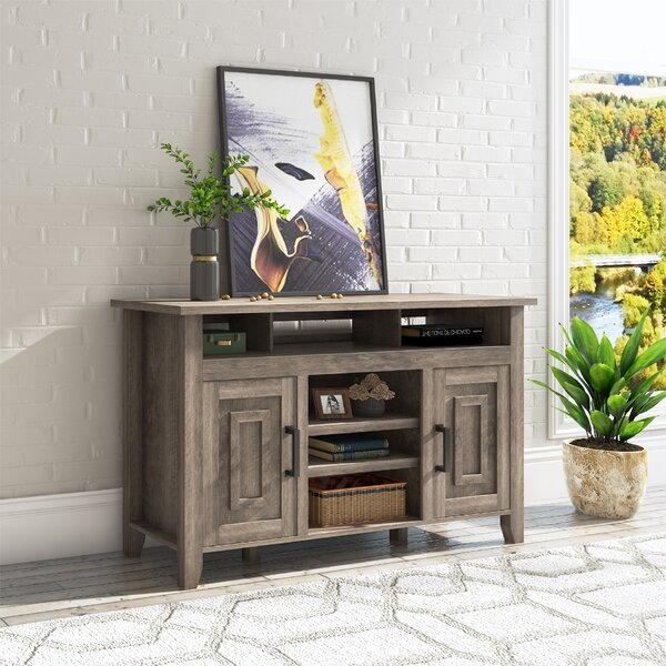 Catlin Solid Wood TV Stand for TVs up to 60