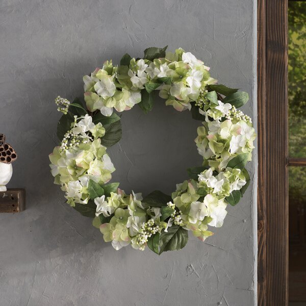24 Hydrangea Berry Wreath by Ophelia & Co.