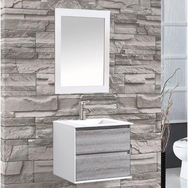 Pedersen 24 Single Sink Bathroom Vanity by Orren Ellis
