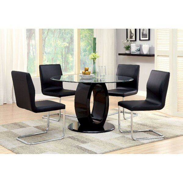 Waller 5 Piece Dining Set by Orren Ellis Orren Ellis