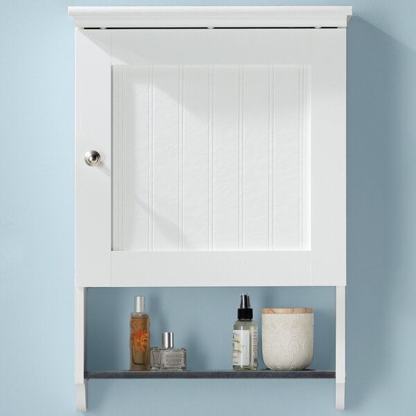 Gulf 19.88 W x 28.75 H Wall Mounted Cabinet by Beachcrest Home