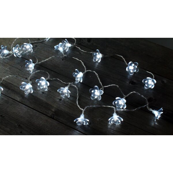 Crystal Blossoms 20 String Light by Bungalow Rose