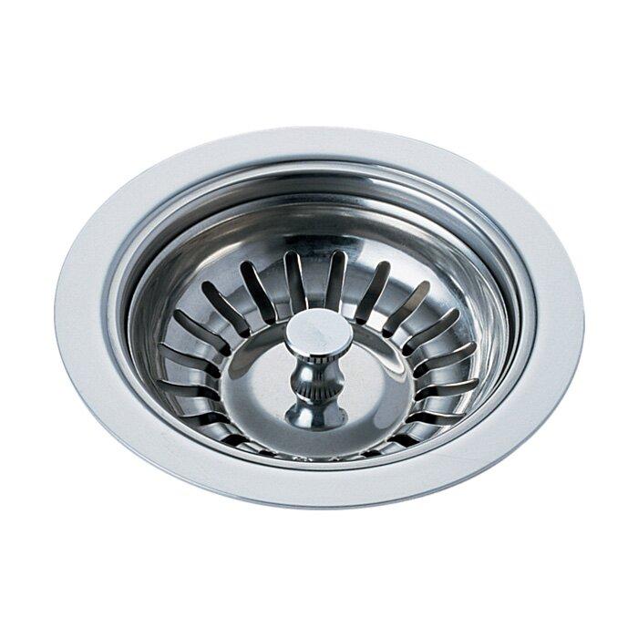 Delta Kitchen Sink Flange and Basket Strainer Stopper Flange ...
