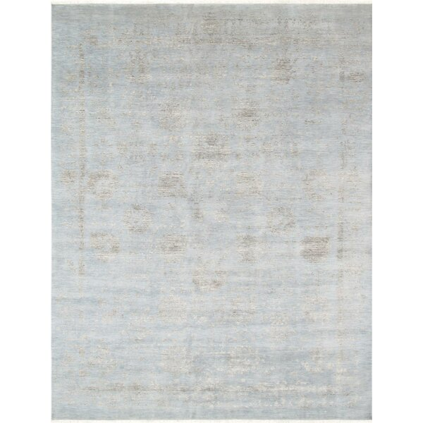 Transitional Hand-Knotted Wool Area Rug by Pasargad