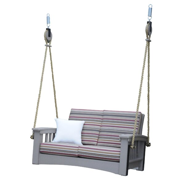 Omar Lounge Rope Porch Swing by Rosecliff Heights