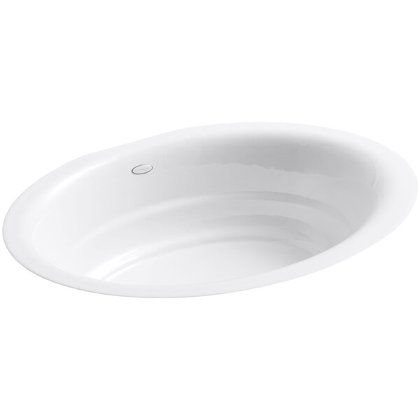 Garamond Metal Oval Undermount Bathroom Sink by Kohler