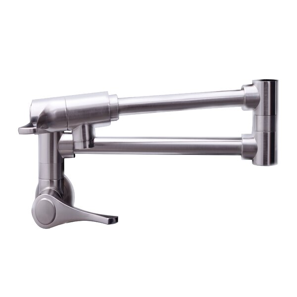 Double Handle Wall Mounted Pot Filler by Dyconn Faucet