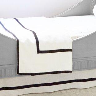Velvet Trim Linen Quilt ByPemberley Rose