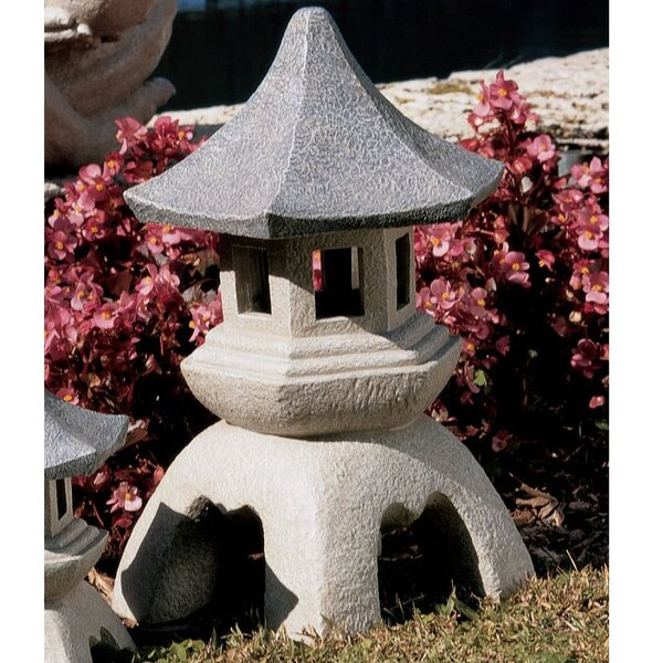 Pagoda Decorative Lantern by Design Toscano