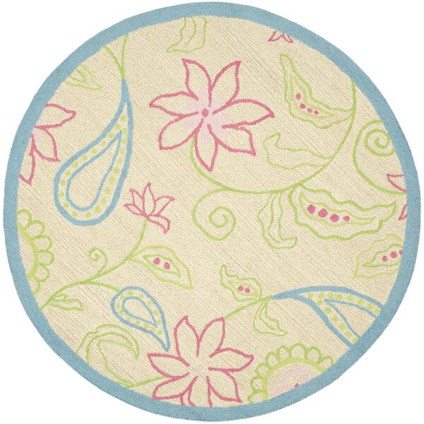 Claro Damask Kids Area Rug by Harriet Bee
