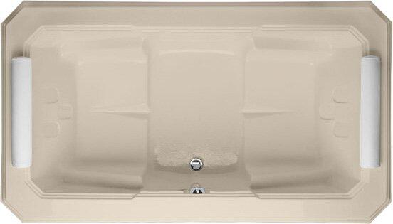 Designer Mystique 78 x 44 Soaking Bathtub by Hydro Systems