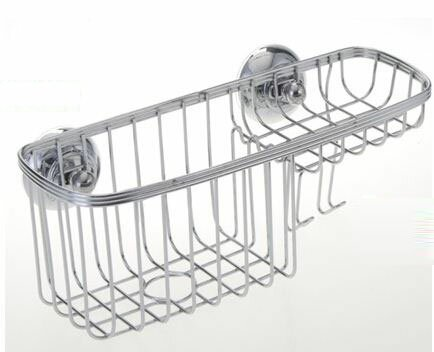 Stainless Steel Wall Mounted Shower Caddy by Wee's Beyond