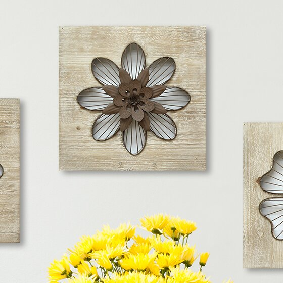 Flower Wall Décor by Red Barrel Studio
