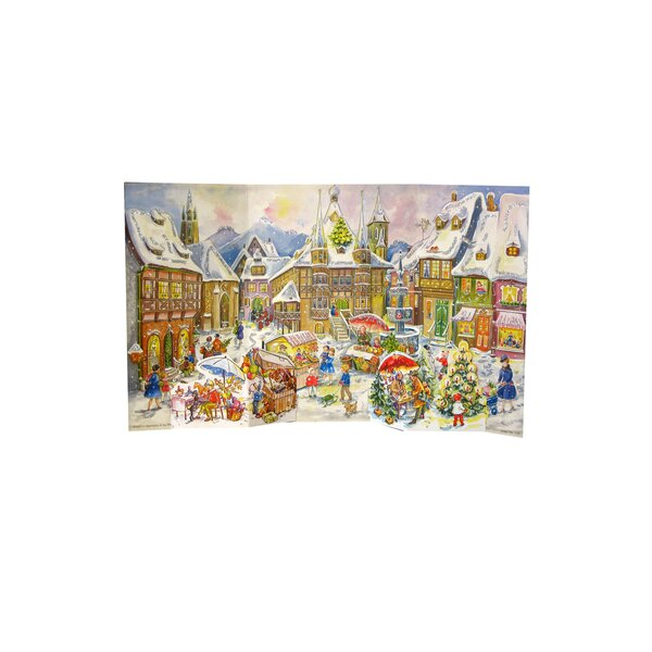 Sellmer Old World Village Advent Calendar by The Holiday Aisle