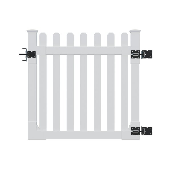 4 ft. H x 4 ft. W Traditional Gate by Wam Bam Fence CO.