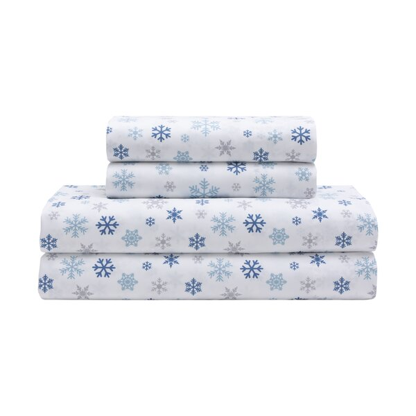 Lillian Holiday Microfiber Print Sheet Set by The Holiday Aisle
