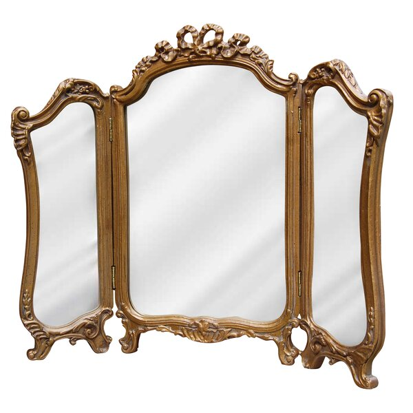 Tri Fold Bathroom/Vanity Mirror by Hickory Manor House