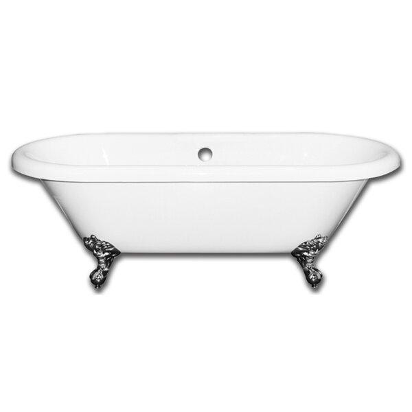 Vernon Clawfoot 70 x 31 Soaking Bathtub by Alcott Hill