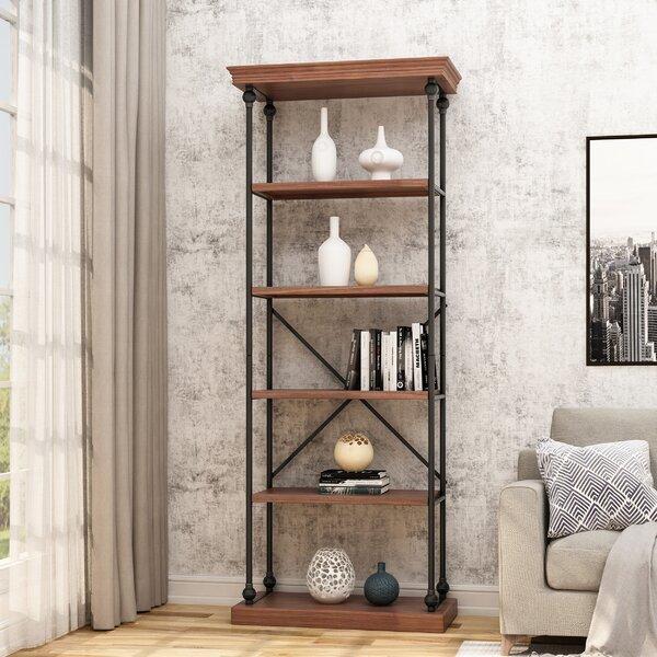 Traxler Industrial 5 Shelf Firewood Etagere Bookcase By Gracie Oaks