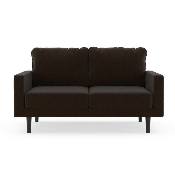 Schiller Satin Weave Loveseat by Orren Ellis