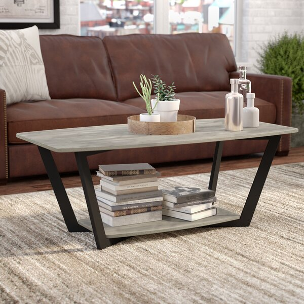 Anissa Coffee Table with Storage by Trent Austin Design
