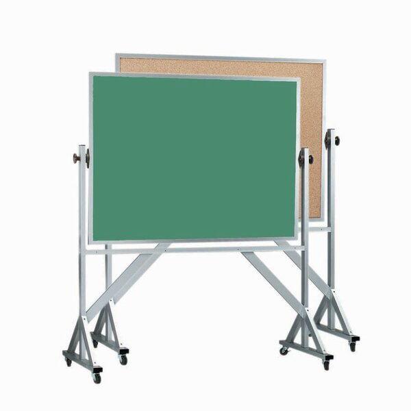 Reversible Combination Chalkboard by AARCO