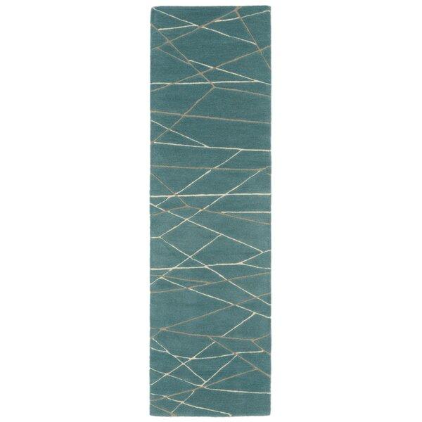 Tenorio Hand-Tufted Blue Area Rug by Brayden Studio