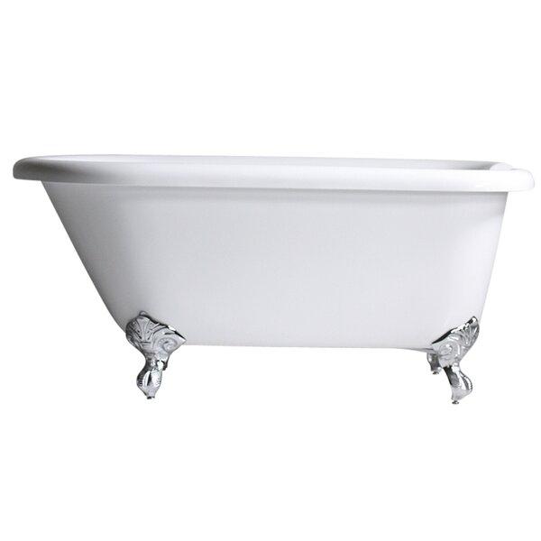 Hotel Acrylic Classic 53 x 30 Freestanding Soaking Bathtub by Baths of Distinction