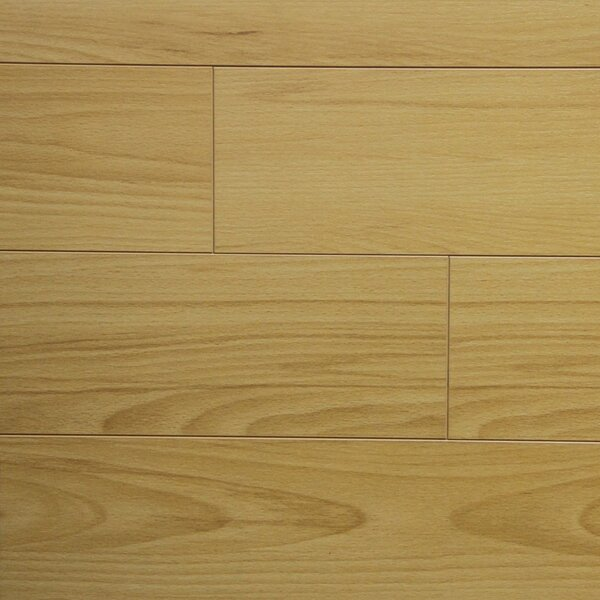 5 x 48 x 12.3mm Laminate Flooring in Ancient Beech (Set of 22) by Serradon