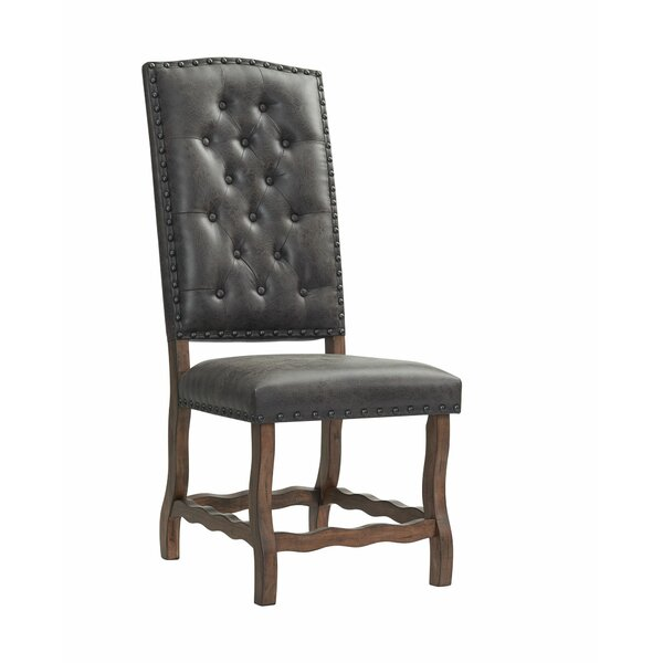 Gehring Tufted Side Chair In Walnut (Set Of 2) By Alcott Hill