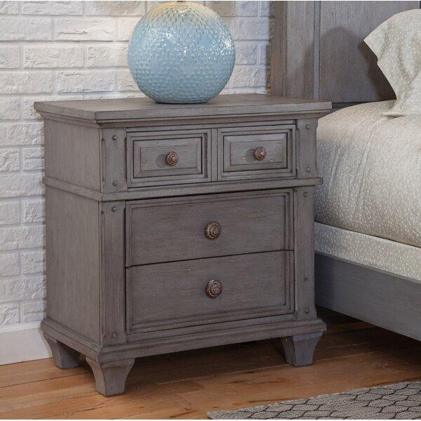 Dorinda 3 Drawer Nightstand by One Allium Way
