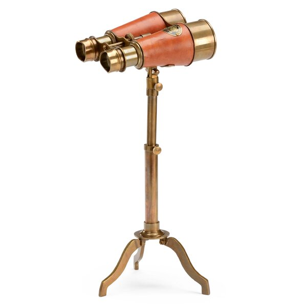 Binoculars Tripod Decorative Telescope by Wildwood