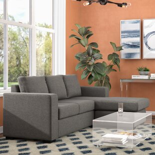 Thurman Chaise Reversible Sectional Mercury Row
