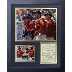 Houston Astros - Killer B's Framed Memorabilia by Legends Never Die