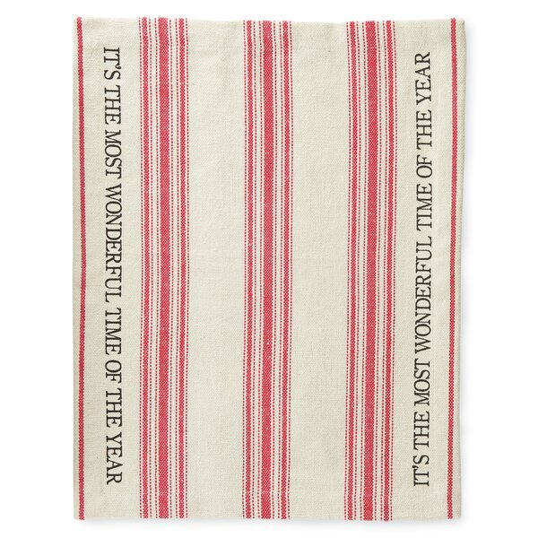 Grainsack Holiday 17 Placemat (Set of 4) by Mud Pie™