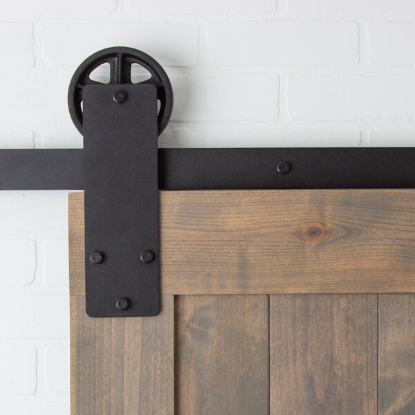 Aspen Sliding Barn Door Hardware by Artisan Hardware