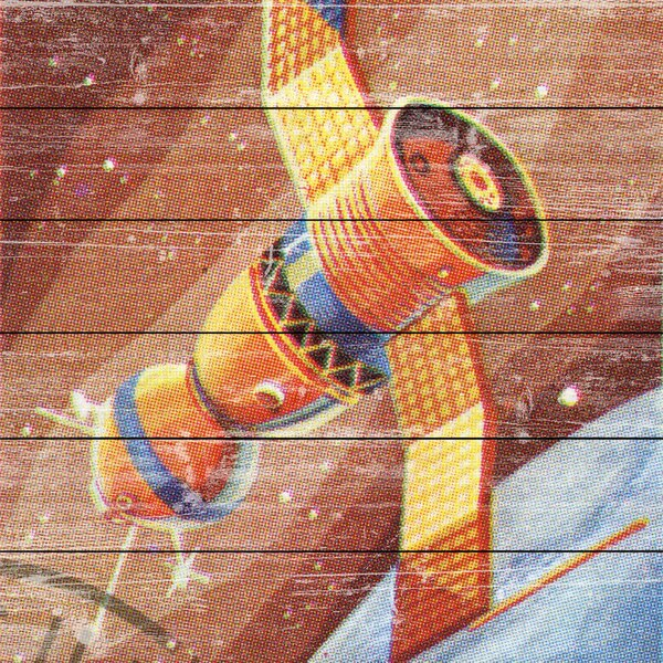 Cuban Space Module Graphic Art on Wood by Marmont Hill